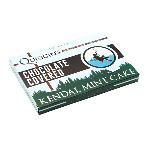 Plain Chocolate Covered Kendal Mint Cake – 213g